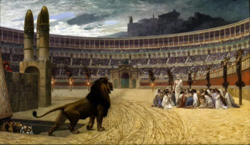 Христианские мученики, - исповедание веры
